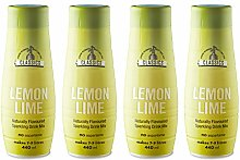 SodaStream Classics Lemon Lime Syrup, Pack of 4