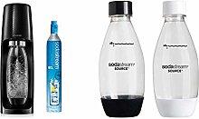 sodastream Spirit Sparkling Water Maker black with