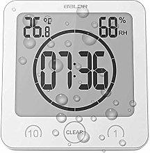 Soddyenergy LCD Digital Shower Clock, Bathroom