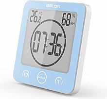 Soddyenergy LCD Digital Shower Clock, Bathroom