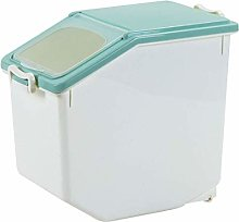 SODIAL 15KG/33Lb Rice Storage Container Airtight