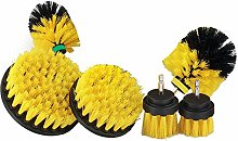 SODIAL Drill Brush Power Tool Cleaning Kit to