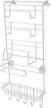SODIAL Fridge Hanging Rack Shelf Side Storage