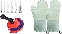 SODIAL Heat Resistant Pot Holders Non-Slip