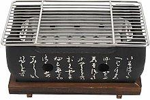 SODIAL Japanese Korean Bbq Grill Oven Aluminium