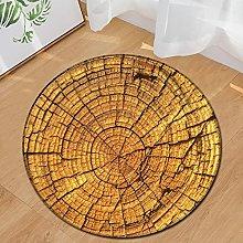 SODKK Modern Rugs Living Room 100cm Round