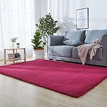 SODKK Modern Rugs Living Room 130 x 170 cm Red
