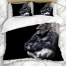 Soefipok Duvet Cover Sets Young Silver Endangered
