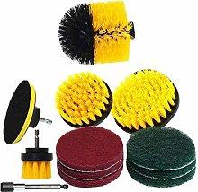SOEKAVIA 12Pcs / Set Drill Brush Accessories Set