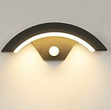 SOEKAVIA 15W Outdoor Wall Light With Motion Sensor
