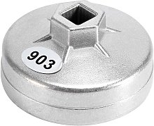 SOEKAVIA 1pcs Oil Filter Wrench, 74mm 14 Spline