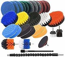 SOEKAVIA 31 PIECES SERIES Drill Brush Accessories