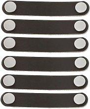 Soekavia - 6 Piece 96mm Leather Furniture Handle
