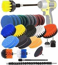 SOEKAVIA Cleaning Drill Brush 31 Piece Drill Brush