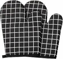 SOEKAVIA Cotton Oven Gloves Lining, 1 Pair of Anti