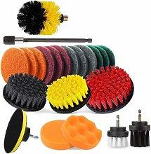 SOEKAVIA Electric Drill Brush Attachment, Drill