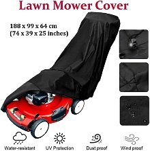 SOEKAVIA Lawn Mower Cover, 190T Lawn Mower Cover