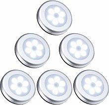 SOEKAVIA LED Closet / Cabinet Light, 6pcs