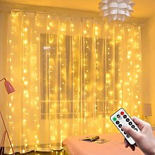 Soekavia - Light Curtain, 3M * 3M USB 300 LED