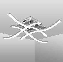 Soekavia - Modern LED Ceiling Light, Wave Shaped