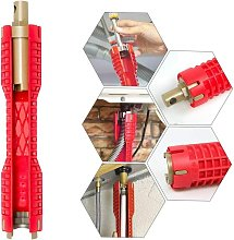 SOEKAVIA Multi-purpose Pipe Wrench, Change Faucet