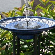 Soekavia - New solar fountain, 1.5W bird bath