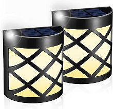Soekavia - Outdoor Solar Lamp [2pack] LED Solar