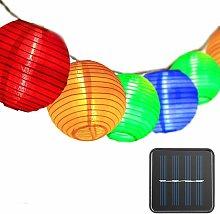 Soekavia - Outdoor Solar String Lights Lanterns,