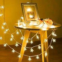 Soekavia - Star String Lights, 40 LED Light