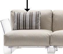 Sofa accessory - / 48 x 35 cm by Kartell Grey