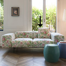 Sofa accessory - / 48 x 48 cm by Kartell Pink,Green