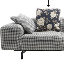 Sofa accessory - / 48 x 48 cm by Kartell