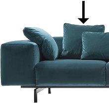 Sofa accessory - / Velvet - 48 x 48 cm by Kartell