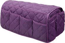 Sofa Armrest Storage Bag with 14 Pockets Non-Slip