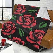 Sofa Bed Blankets Throw Beautiful Elegant Floral