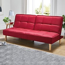 Sofa Bed in Berry by Coopers of Stortford