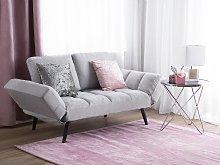 Sofa Bed White Loveseat Adjustable Armrests