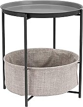 Sofa Coffee Table Wrought Iron Small Round Nordic