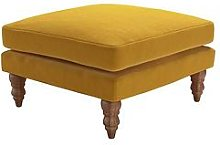 Sofa.Com Isla Fabric Medium Square Footstool
