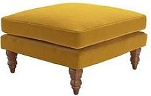 Sofa.Com Isla Fabric Medium Square Footstool