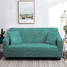 Sofa Cover 1 Seater Green Couch Cover Polyester