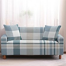 Sofa Cover 1 Seater Lattice Couch Cover Polyester