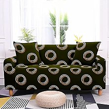 Sofa Cover 1 Seater Olive Green Couch Cover