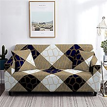 Sofa Cover 1 Seater Refined Couch Cover Polyester