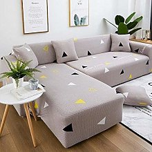 Sofa Cover,Elastic Sofa Grey With Cover Slipcovers