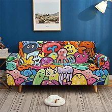 Sofa Cover Stretch Polyester Hip-Hop Style