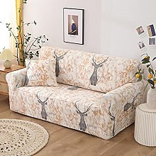 sofa covers 1 seater Orange marble elk polyester
