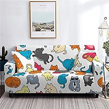 Sofa Covers 4 Seater Cat Couch Cover Polyester
