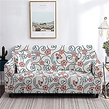 Sofa Covers 4 Seater Floral Couch Cover Polyester