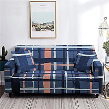 Sofa Covers 4 Seater Navy Couch Cover Polyester